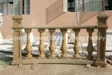 Sculture di marmo della balaustra di asta della ringhiera della pietra del corrimano dell'inferriata