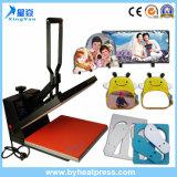 Máquina de múltiples funciones de la sublimación de la prensa del calor de la impresión de la camiseta del certificado del Ce