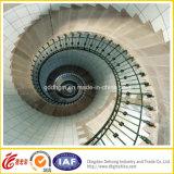 工場直売およびエクスポートの高品質の粉はMordenアーク階段デザインに塗った