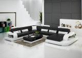 G8005 disegni moderni del sofà del re Size Luxury Leather Home