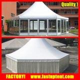 Dia 6m 8m 10m 12mの円形のドームの六角形の塔のテント