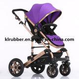 Pram de alumínio do bebê do carrinho de criança de bebê do Buggy de bebê do modelo novo