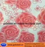Цвет картины цветка покрыл стальную катушку