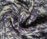 Satin en soie, tissu en soie d'impression de satin, satin de Charmuse, tissu en soie