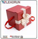 Rectángulo de acrílico de empaquetado del caramelo de la boda del rectángulo de regalo del papel del rectángulo del estaño del regalo del chocolate del metal del regalo del estaño del caramelo (YSC22)