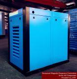 Compresseur rotatoire inférieur/à haute pression de couplage axial de vis d'air