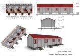 Campo modular del hotel y de la explotación minera de la casa y oficina y escuela y apartamento