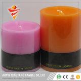 الصين 6 بوصة زخرفة شمعة عمود شمعة