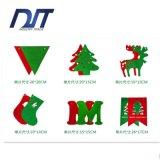 Знамя ткани войлока рождества Flags флаги украшений рождества вися флаги