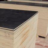 Schwarzes Brown-Farben-Furnierholz für Aufbau