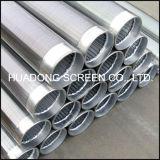 Schermo del Johnson di precisione del collegare Screen/Ss316L del cuneo del tubo/Johnson del filtro per pozzi dell'acqua dell'acciaio inossidabile