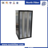 Совмещенные V-Клеткой фильтры высокой эффективности для чистой комнаты