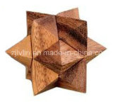 단단한 Wood 3D Puzzle, Brain Benders