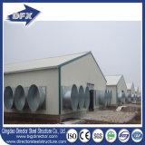 Buen almacén fabricado acero industrial del taller de la ventilación