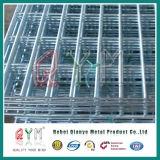 Doppio recinto di filo metallico decorativo del ciclo/doppia rete fissa saldata superiore del rullo