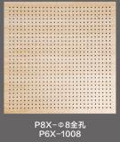 Панель цемента волокна доски ядровой абсорбциы акустическая (P6X-1008)