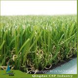 Erba artificiale sintetica d'abbellimento molle sicura di calcio del tappeto erboso per prato inglese