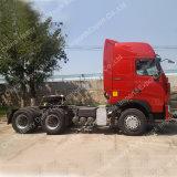 Sinotruk HOWO 420HPのトラクターヘッド2トラックのトラクターのトラック