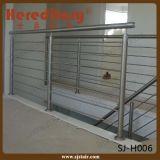 Inferriata personalizzata del Rod dell'acciaio inossidabile del SUS per le scale ed il balcone (SJ-S309)