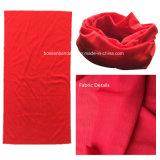 Sjaal van Microfiber van de Polyester van de Douane van de Opbrengst van de fabriek de Embleem Afgedrukte Multifunctionele Bleekgele