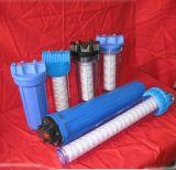 Grande custodia di filtro dell'acqua blu del filetto d'ottone con il filtro