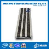 De sécurité de carborundum d'insert de trame escalier en aluminium Nosings (MSSNC-4) de glissade non