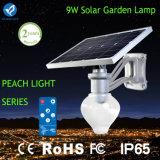 Luces solares al aire libre de la calle de Bluesmart 9W de la luz solar del jardín