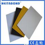 El panel compuesto de aluminio de PE/PVDF para la fachada de la fábrica de Linyi