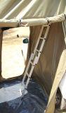 Tenda verde/beige/cachi del rimorchio terrestre dell'automobile del tetto della parte superiore della tenda dell'automobile del tetto