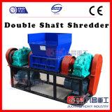 ISO를 가진 두 배 샤프트 슈레더를 위한 기계를 재생하는 플라스틱 병