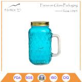 Reaktionäre Hinterwäldler-Maurer-Glas-trinkendes Glas, trinkende Becher