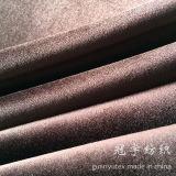 Tissus décoratifs de velours de sofa de textile à la maison