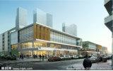 Edifício pré-fabricado da construção de aço do projeto novo para o mercado super do hotel