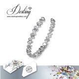 Het Kristal van de Juwelen van het lot van eenvoudig de Armband van de Liefde Swarovski