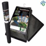 Черная ткань PP Nonwoven для крышки циновки Weed ландшафта