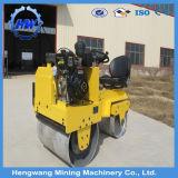 Rodillo ampliamente utilizado de la carretera de asfalto/rodillo de camino vibratorio del tambor doble hidráulico para la venta