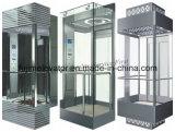 観光ガラスが付いている低雑音の観察のエレベーター