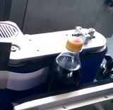 Halbautomatische manuelle runde Flaschen-Etikettiermaschine