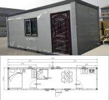 Huizen op hoog niveau van de Container van het Pak van de Kwaliteit de Modulaire Vlakke