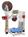Zonsopgang 210*210*225mm van Riae Machine van de Printer van de Hoge Precisie PLA van Reprap Prusa I3 3D