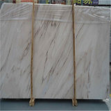 Marmo bianco della galassia delle lastre del marmo di legno di cristallo di marmo della vena