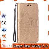 pour la caisse en cuir de téléphone de la galaxie J7 J710f J710 de Samsung