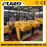 Direzione idraulica rullo compressore in tandem del timpano da 1 tonnellata (FYL-880)