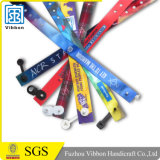 Sicherheits-Entwurfs-SatinWristband/Satin-Armband
