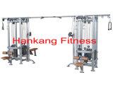 máquina do body-building, equipamento da aptidão, ginástica e equipamento da ginástica, Multi-Selva de 8 estações (HP-3042)