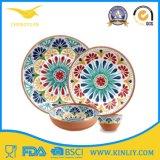 安いヨーロッパの中国私達メラミンプラスチックレストランの安全な円形の正方形の現代ホーム食糧一定の皿のDishwareのディナー用大皿の一定のコップボールの皿テーブルウェアディナー・ウェア