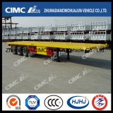 熱いCimc Huajun 40FT Huajun Flatbed Semi-Trailer