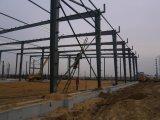 Pre dirigir la estructura de acero del panel de pared de emparedado para el almacén y el taller