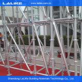 Système en acier d'échafaudage de matériau de construction