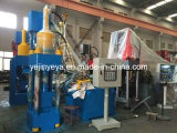 Sbj-250e 연탄 기계를 만드는 고밀도 금속 조각 구획